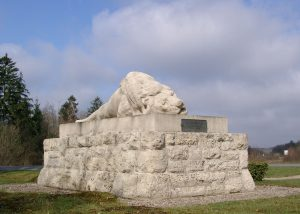 Denkmal der französischen 130. Infanterie-Division am Fort Souville