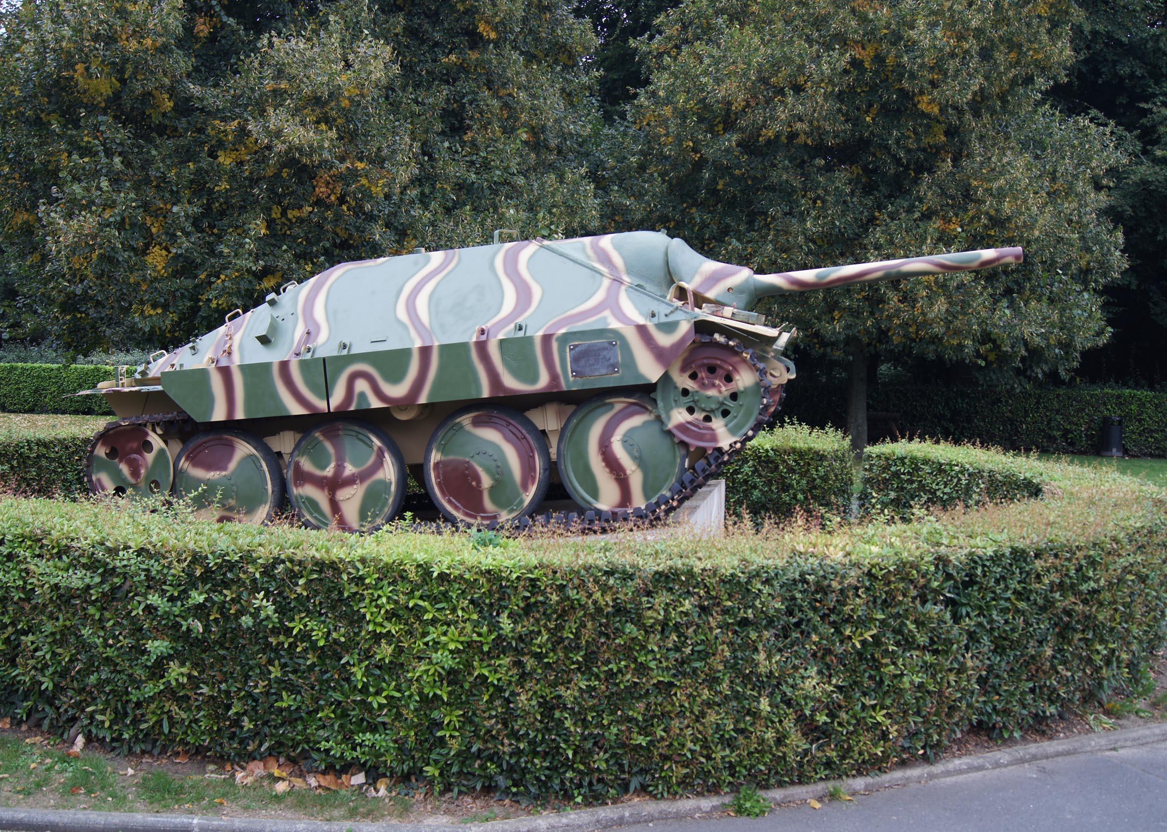 Jadgpanzer 38 (t) Hetzer bei Bayeux