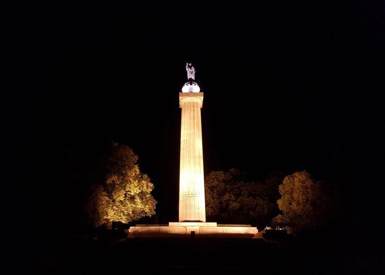 Amerikanisches Denkmal in Montfaucon am 27.09.2018