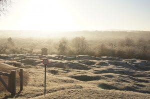 Blick über das Schlachtfeld von Verdun