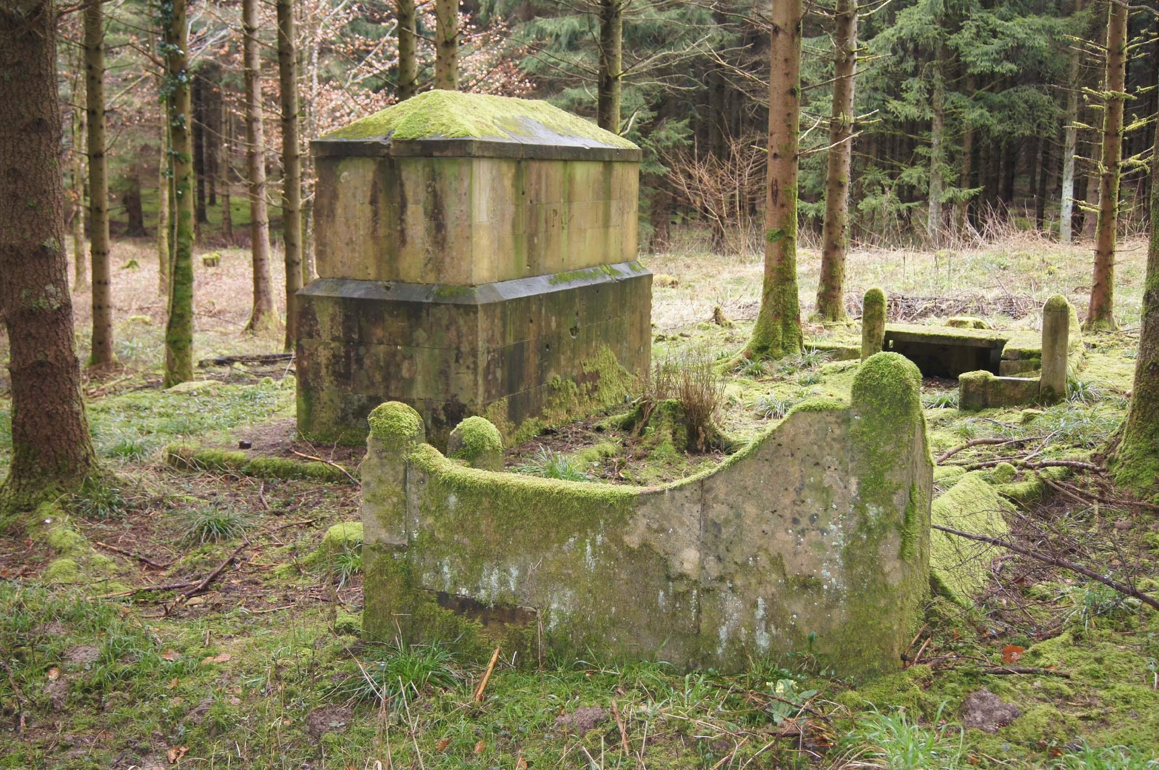 Denkmal des 123. Gernadier-Regiments in den Nord-Argonnen