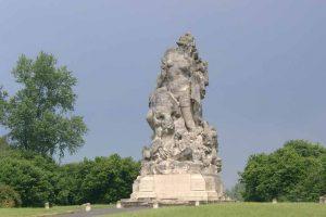 Französisches Denkmal bei Meaux zur Erinnerung an die Marne-Schlacht 1914