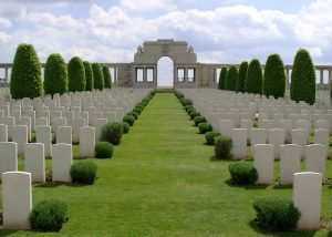 Pozières British Cemetery and Memorial to the Missing