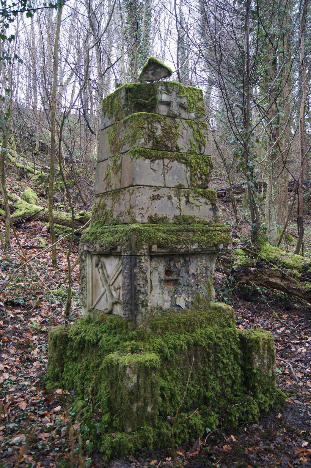 Deutsches Denkmal im Heckhoff-Lager