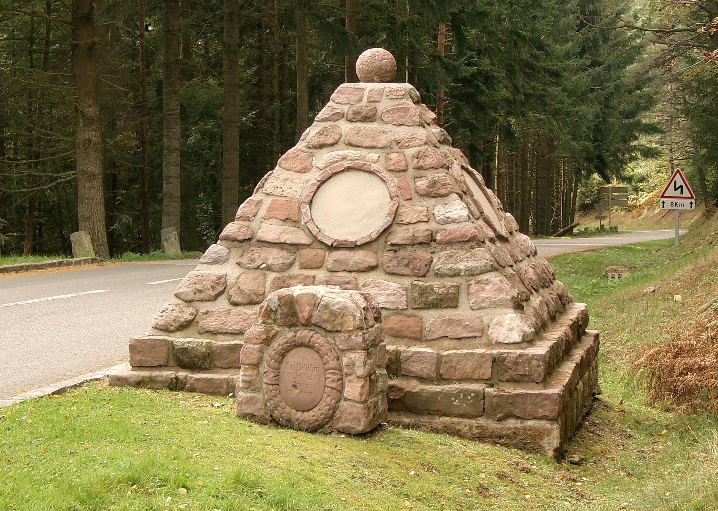 Deutsches Denkmal am Bärenstall bei Hohrod