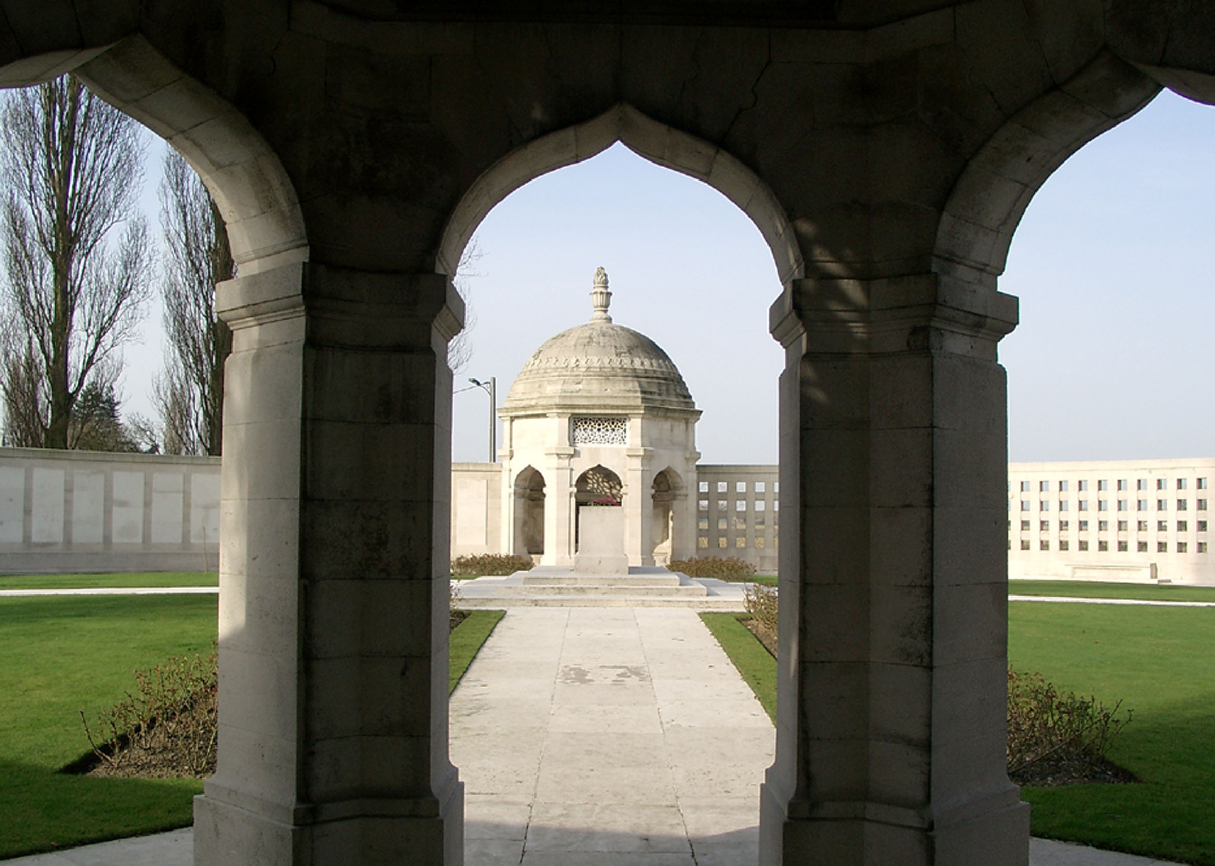 Indian Corps Memorial to the Missing bei Neuve Chapelle