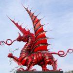 Denkmal der 38. (walisischen) Division am Mametz Wood